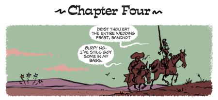 Quijote cartoon