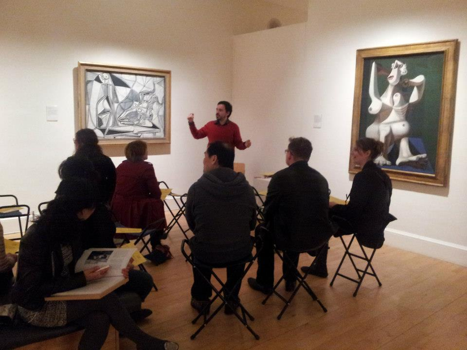 Teaching at the Gallery